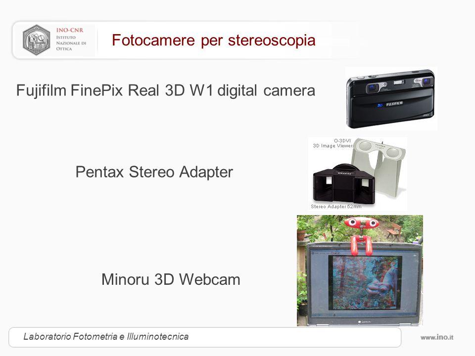 Fotocamere per stereoscopia