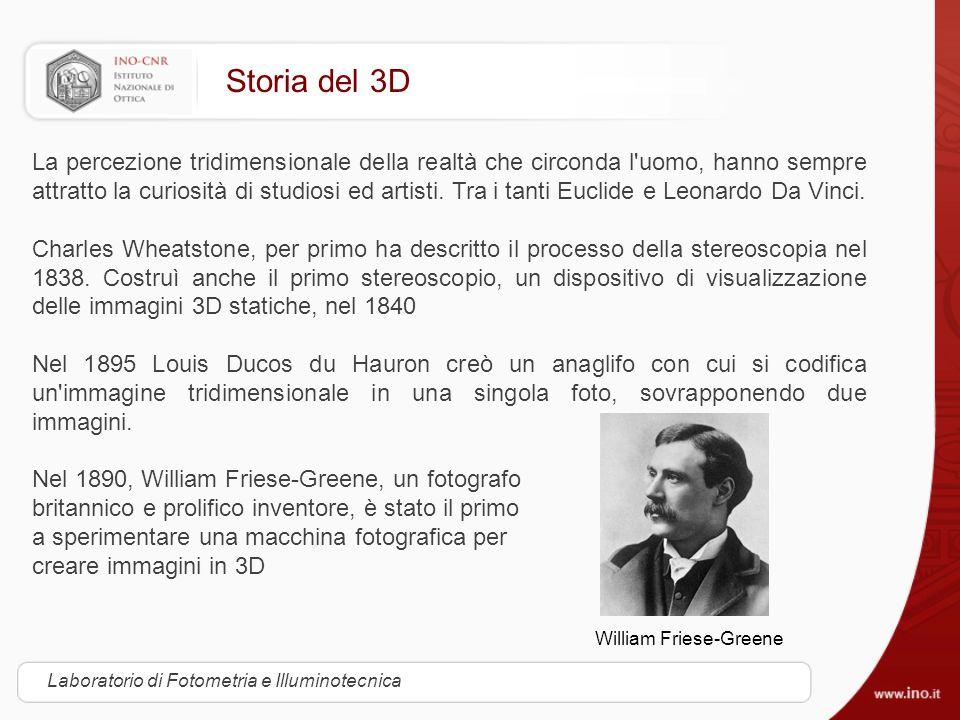 Storia del 3D