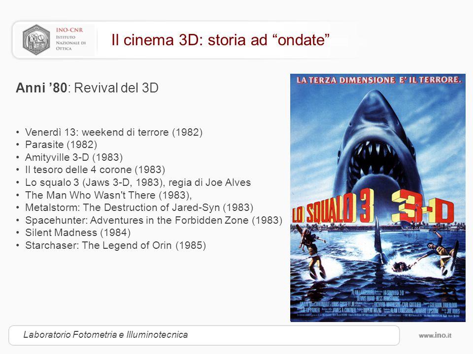 Il cinema 3D: storia ad ondate