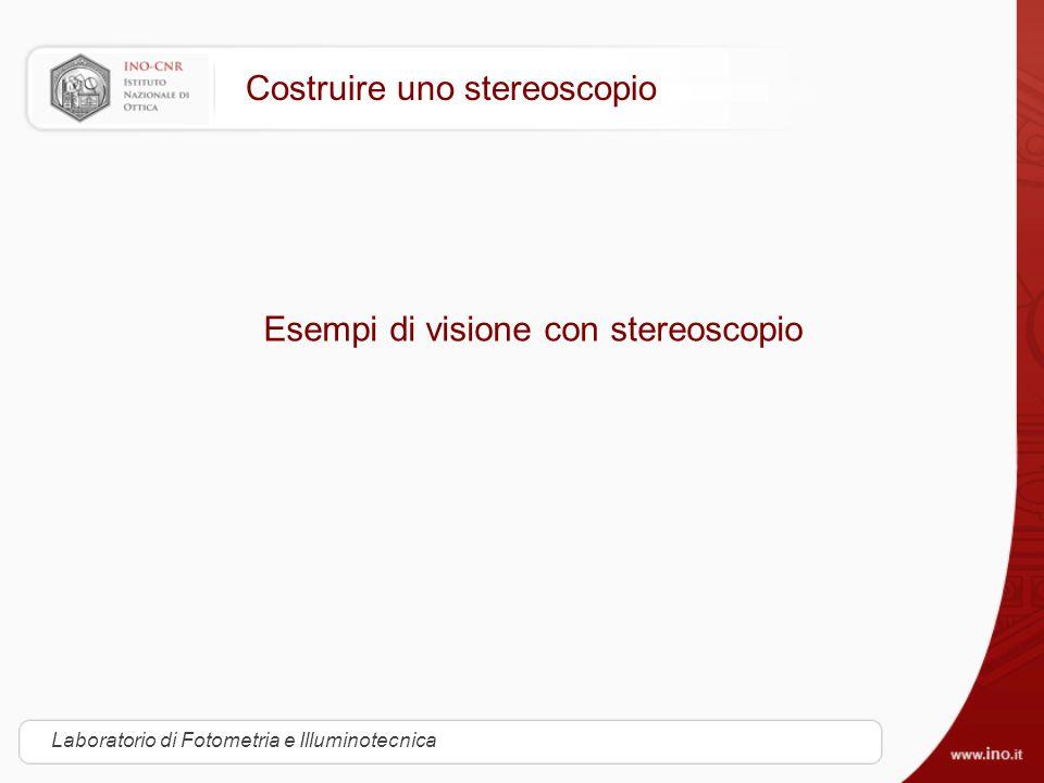 Costruire uno stereoscopio