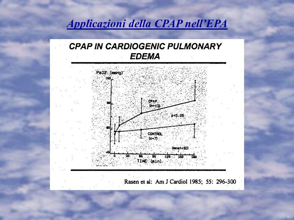 Applicazioni della CPAP nell'EPA