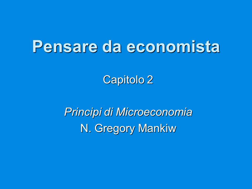 Capitolo 2 Principi di Microeconomia N. Gregory Mankiw
