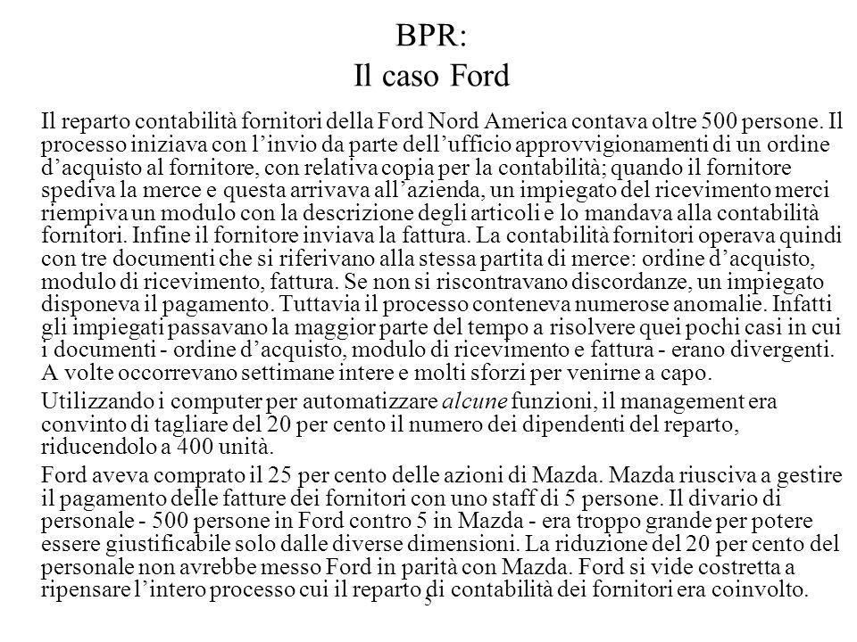 BPR: Il caso Ford