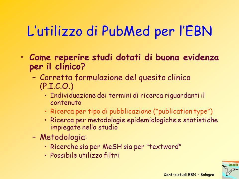 L'utilizzo di PubMed per l'EBN
