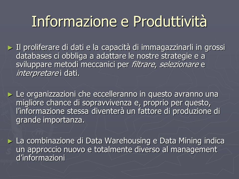 Informazione e Produttività