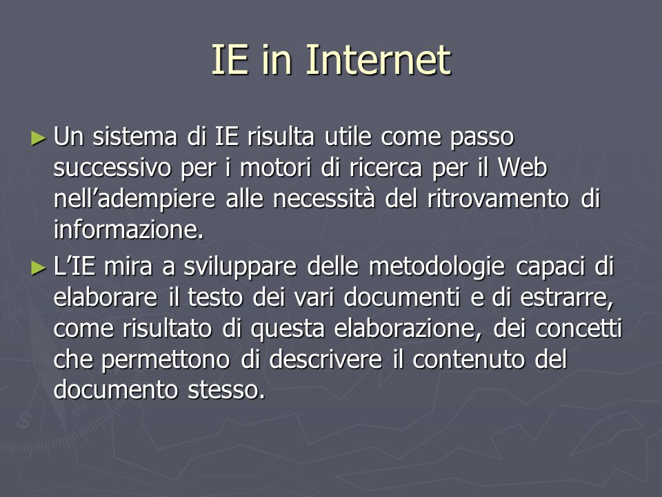 IE in Internet