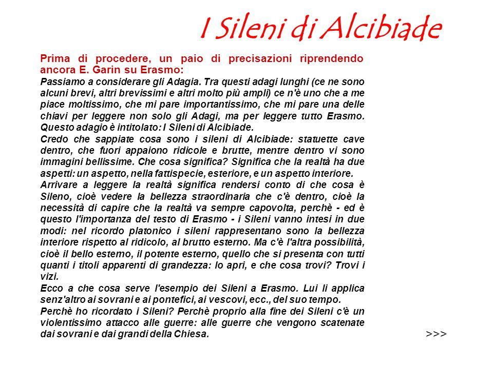 I Sileni di Alcibiade >>>