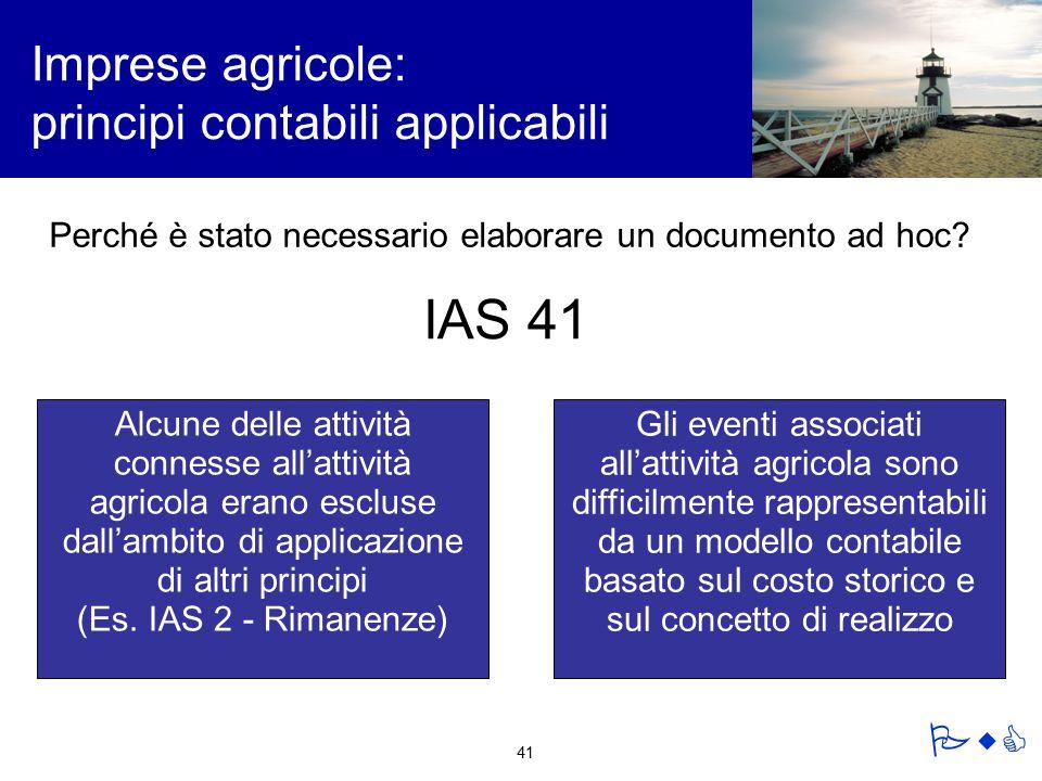 Imprese agricole: principi contabili applicabili