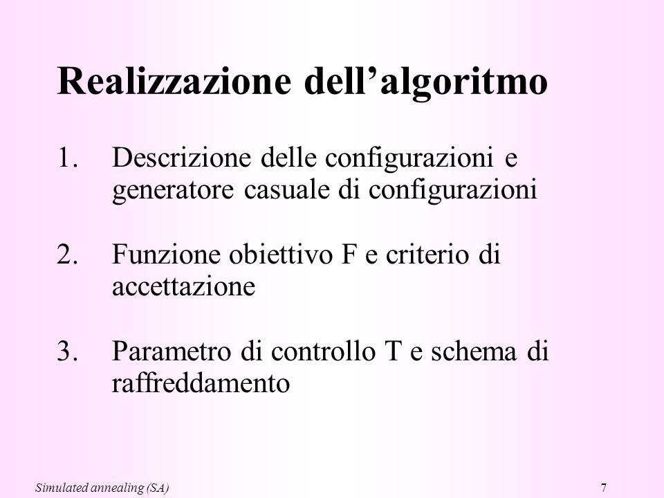 Realizzazione dell'algoritmo
