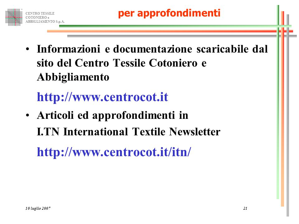 http://www.centrocot.it http://www.centrocot.it/itn/