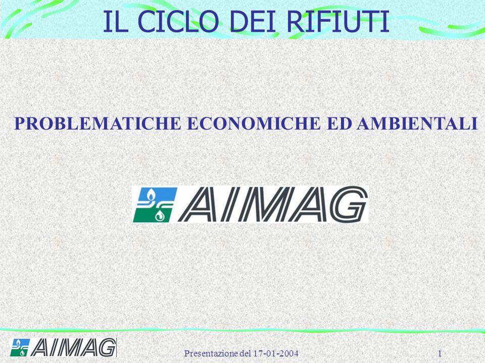 PROBLEMATICHE ECONOMICHE ED AMBIENTALI