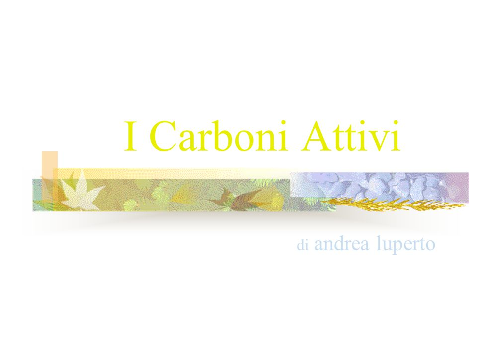 I Carboni Attivi di andrea luperto