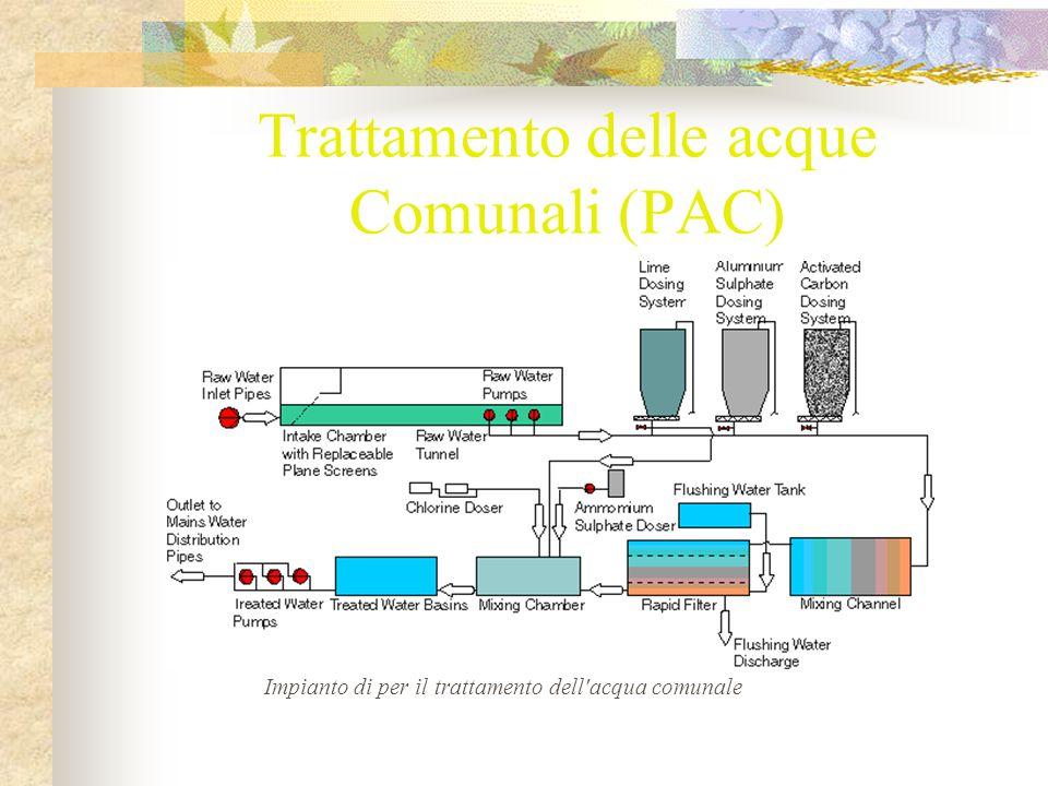 Trattamento delle acque Comunali (PAC)