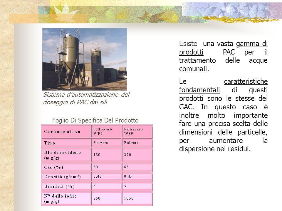 Esiste una vasta gamma di prodotti PAC per il trattamento delle acque comunali.