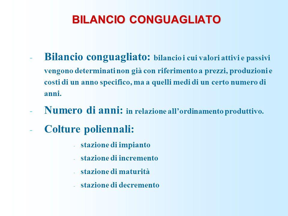 BILANCIO CONGUAGLIATO