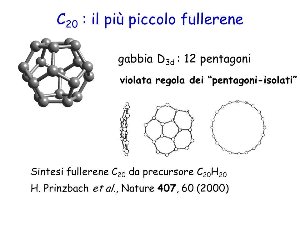 C20 : il più piccolo fullerene