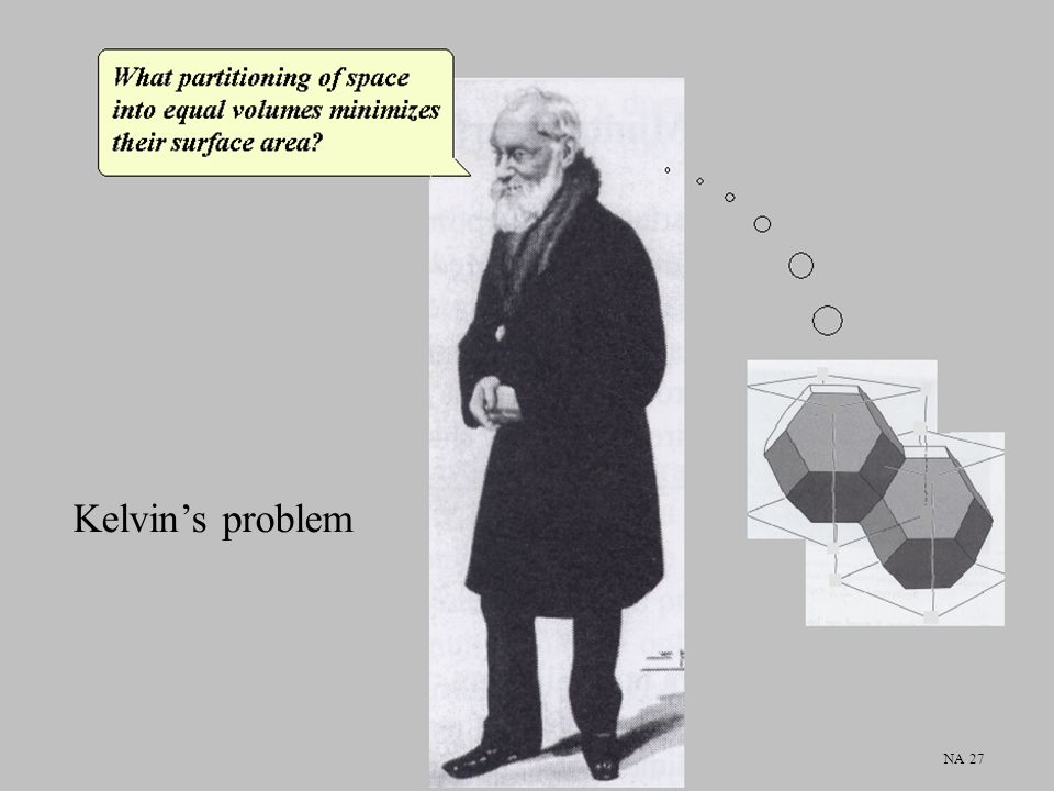 Kelvin's problem NA 27