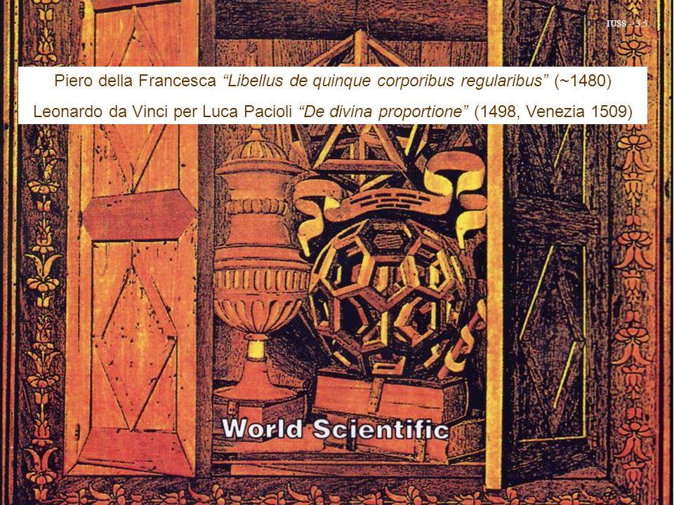 IUSS – 3.5 Piero della Francesca Libellus de quinque corporibus regularibus (~1480)