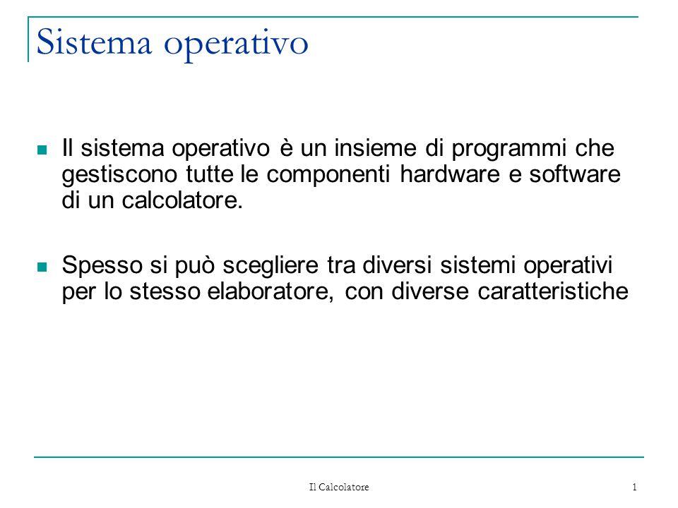 Sistema operativo il sistema operativo un insieme di for Mobilia e un insieme di
