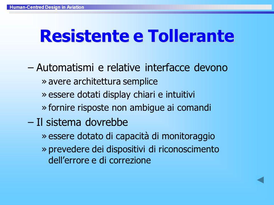 Resistente e Tollerante