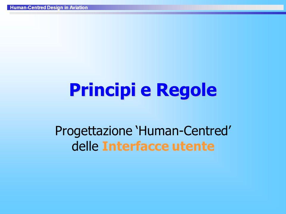 Progettazione 'Human-Centred' delle Interfacce utente