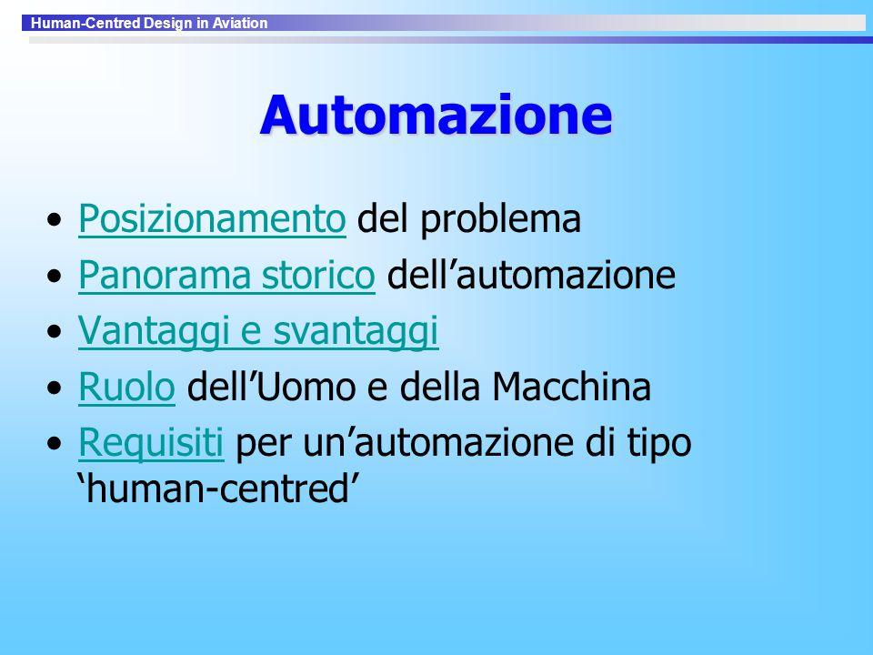Automazione Posizionamento del problema