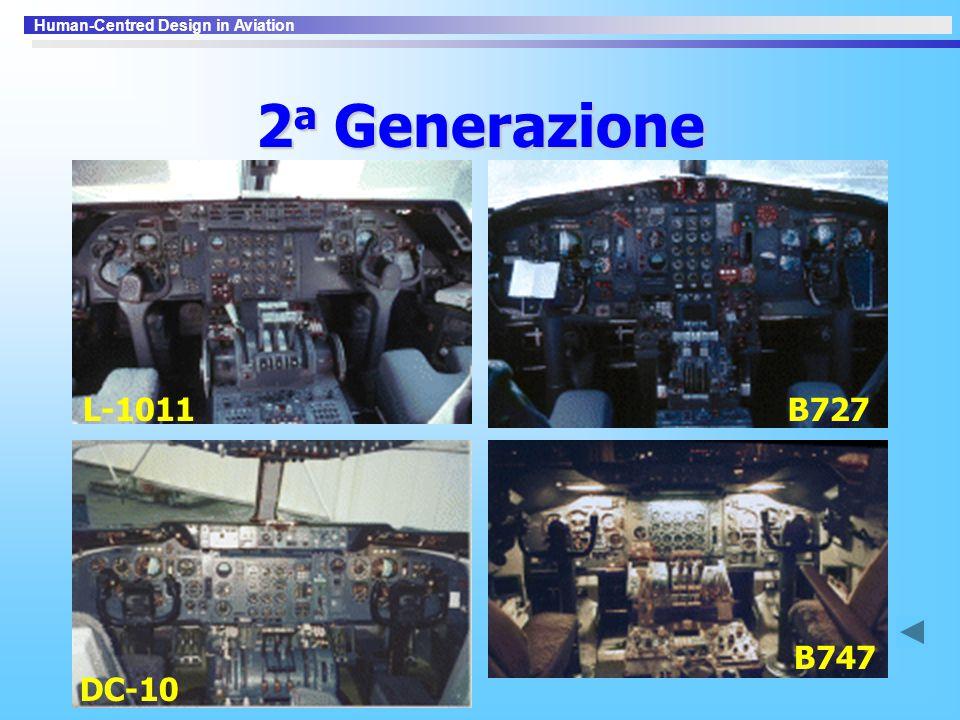 2a Generazione L-1011 B727 DC-10 B747