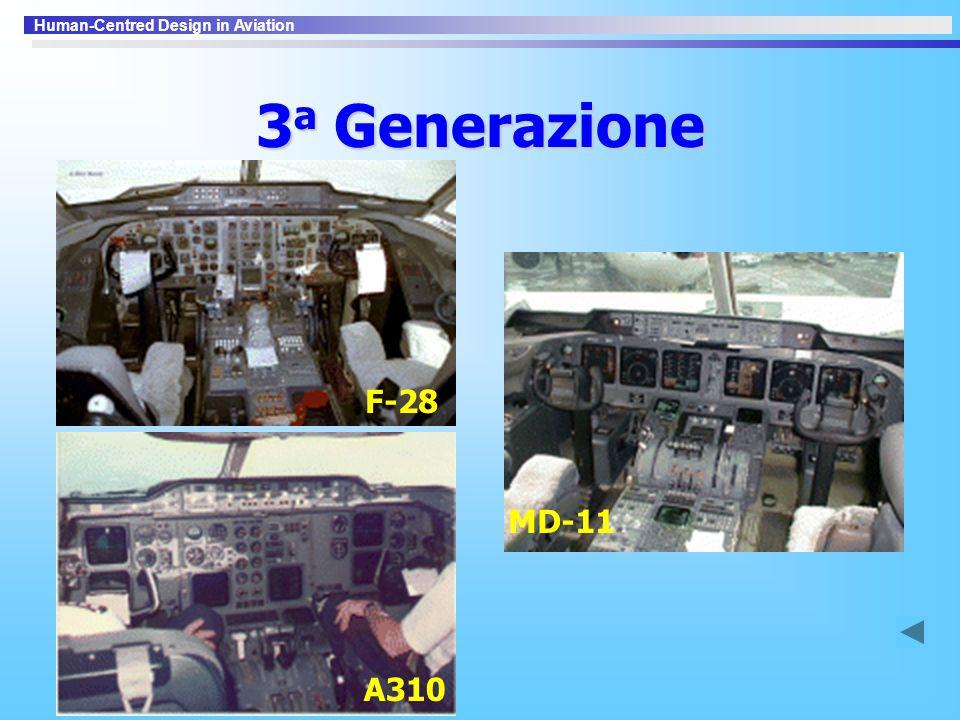 3a Generazione F-28 MD-11 A310