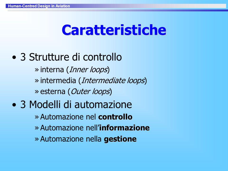 Caratteristiche 3 Strutture di controllo 3 Modelli di automazione