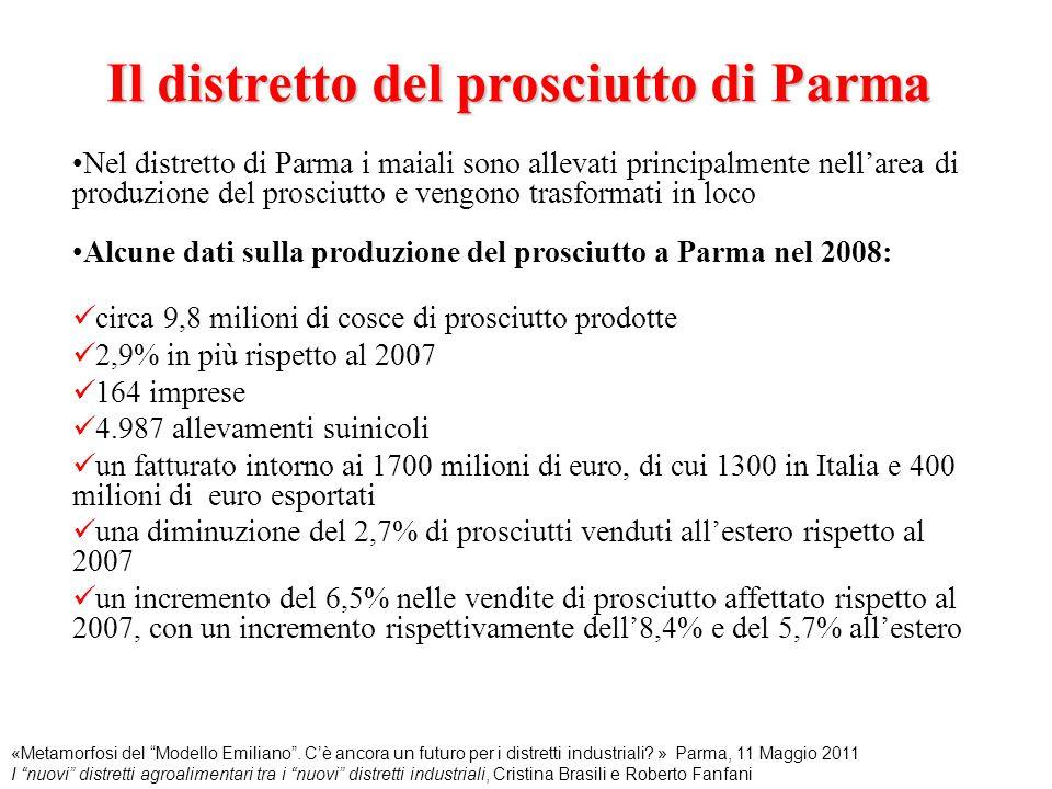 Il distretto del prosciutto di Parma