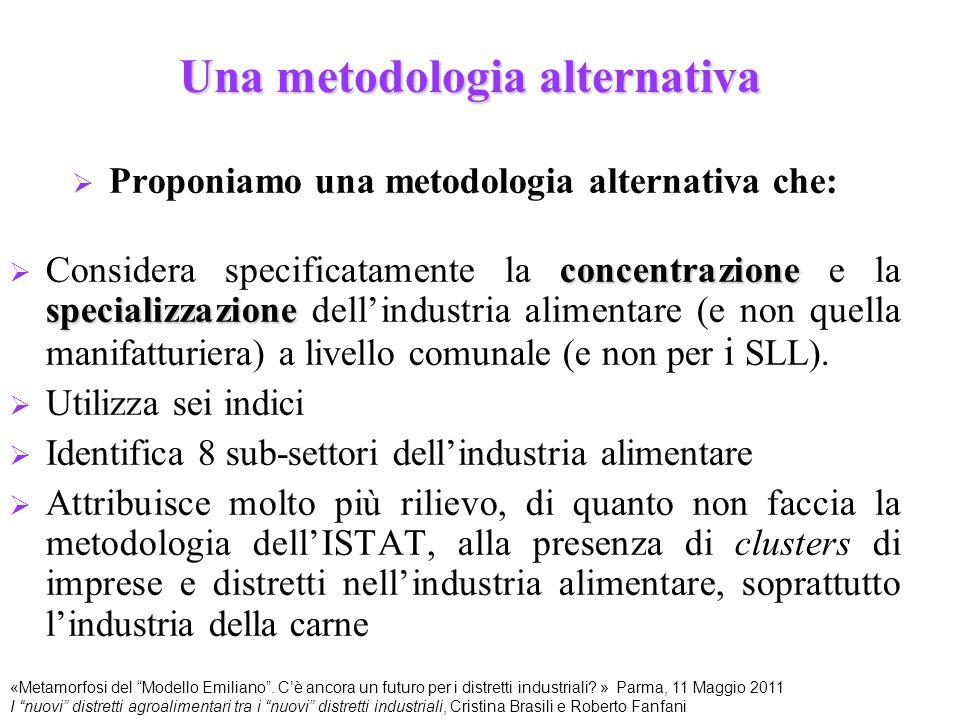 Una metodologia alternativa