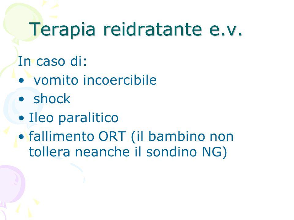 Terapia reidratante e.v.