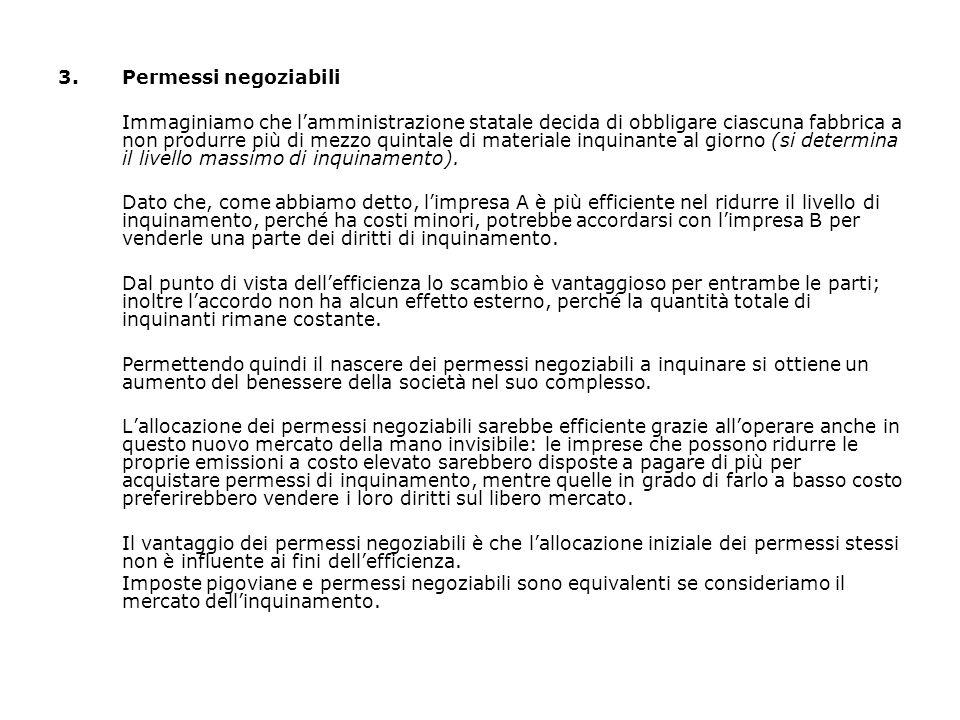 3. Permessi negoziabili