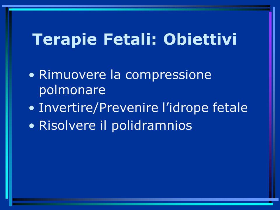Terapie Fetali: Obiettivi