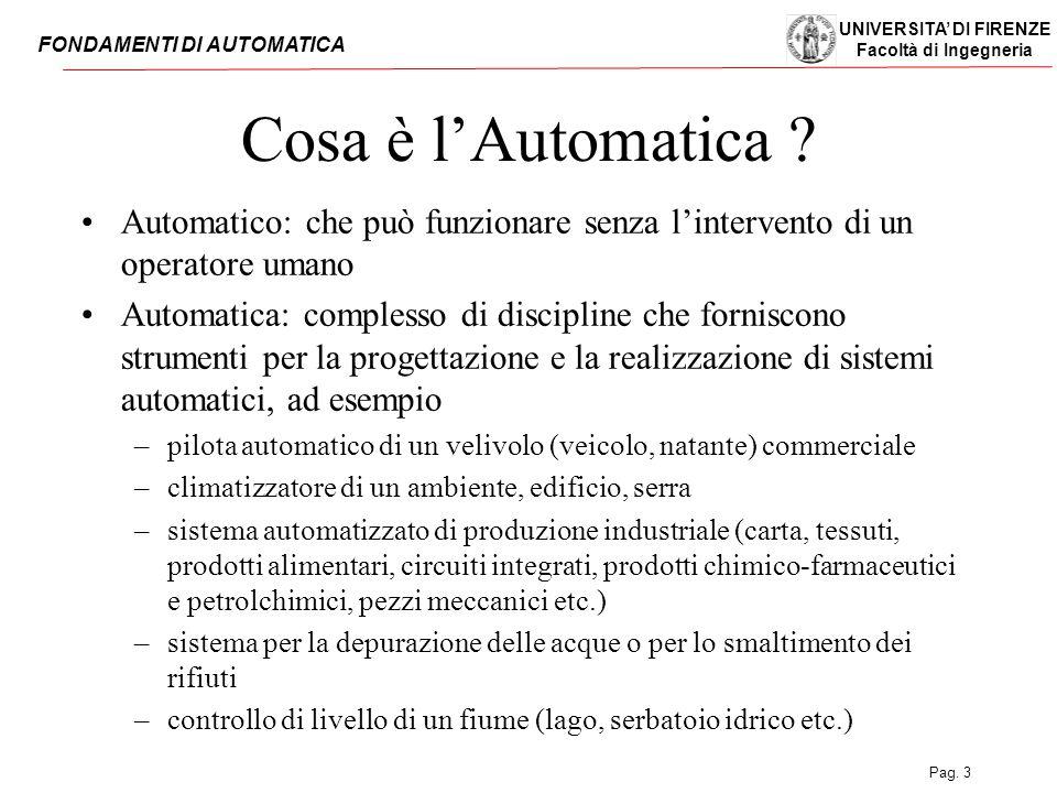 Cosa è l'Automatica Automatico: che può funzionare senza l'intervento di un operatore umano.