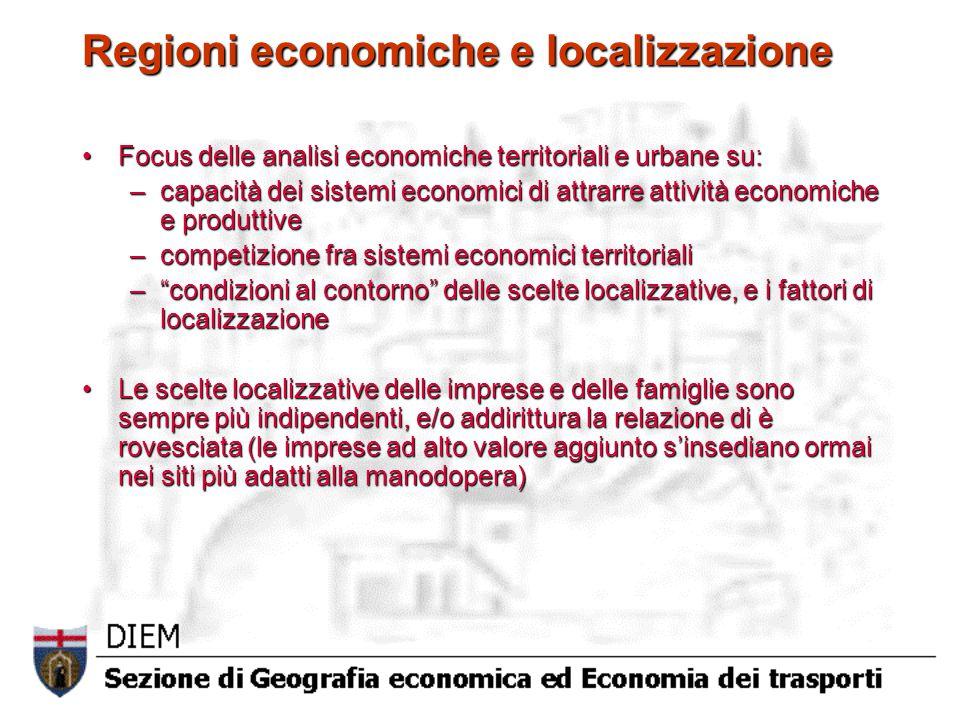 Regioni economiche e localizzazione