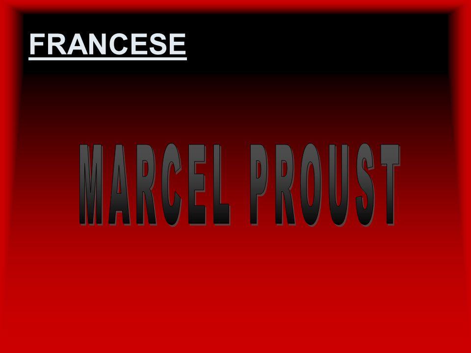 FRANCESE MARCEL PROUST