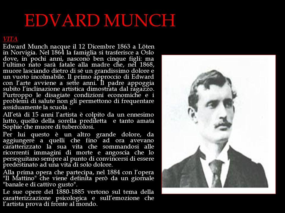 EDVARD MUNCH VITA.
