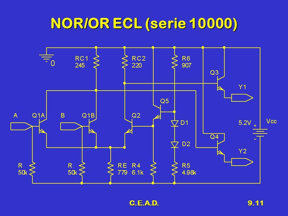 NOR/OR ECL (serie 10000) C.E.A.D.
