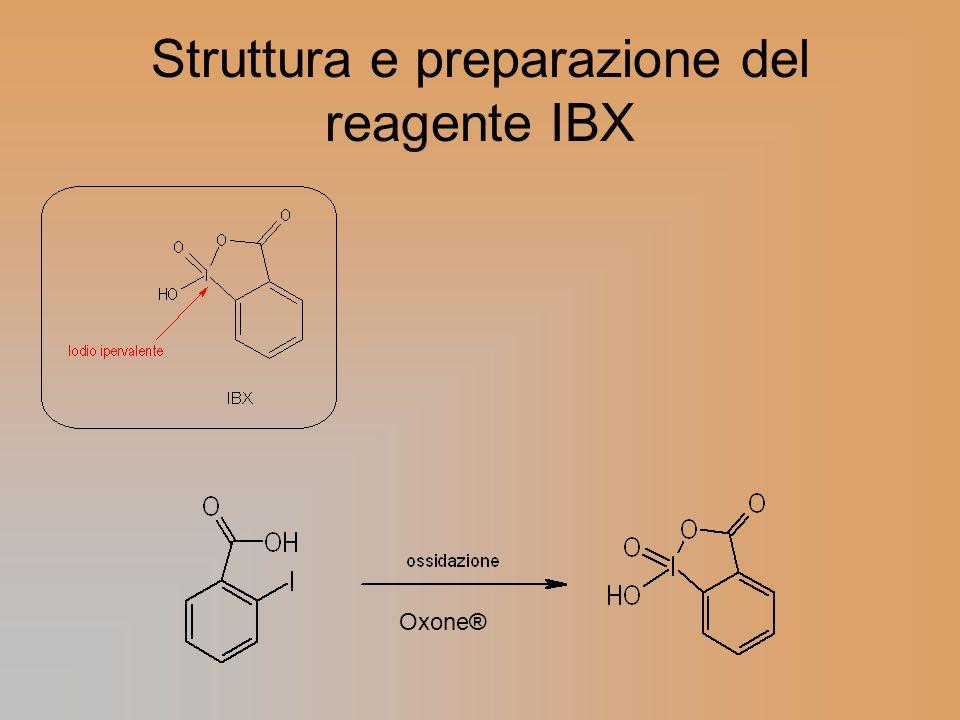 Struttura e preparazione del reagente IBX