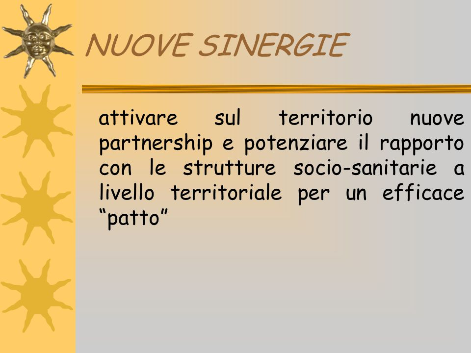NUOVE SINERGIE