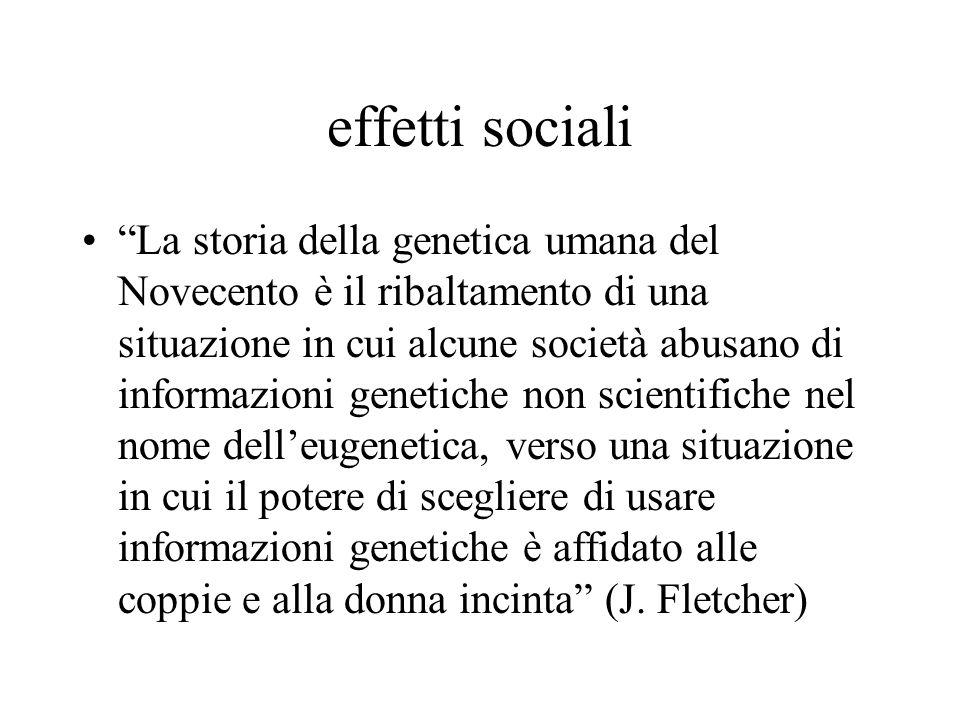 effetti sociali