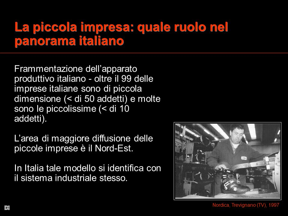 La piccola impresa: quale ruolo nel panorama italiano