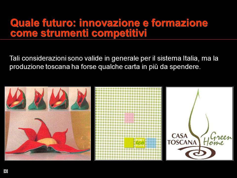 Quale futuro: innovazione e formazione come strumenti competitivi
