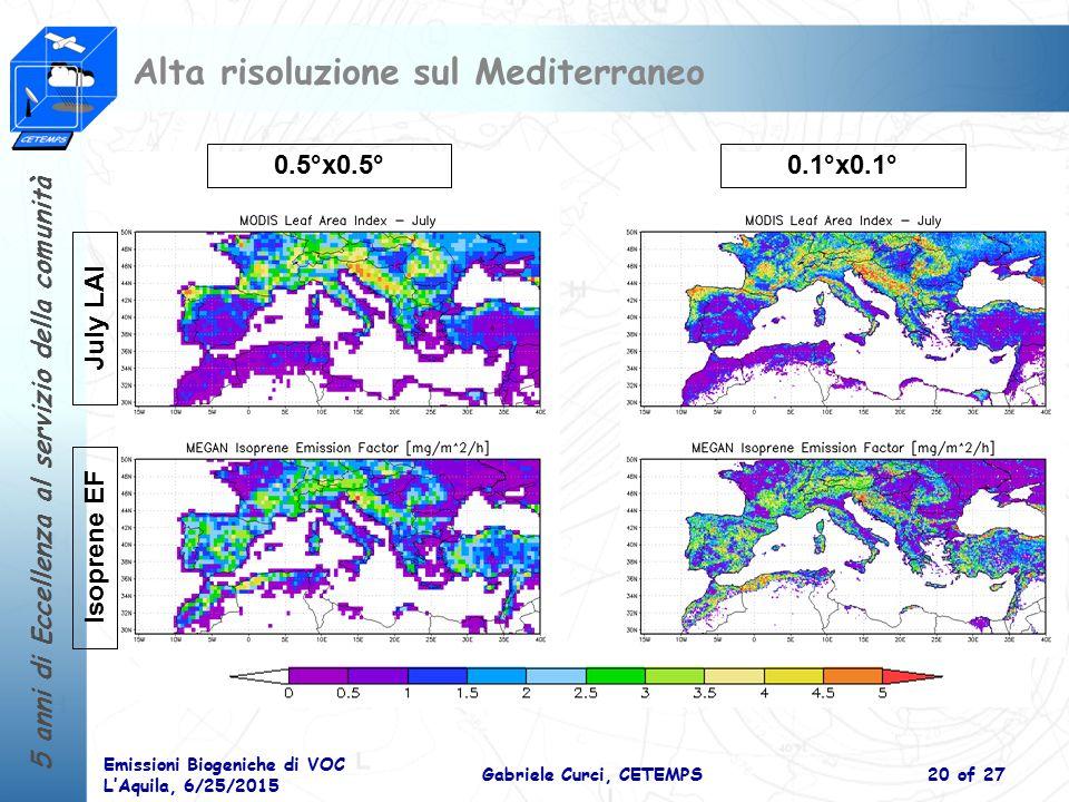 Alta risoluzione sul Mediterraneo