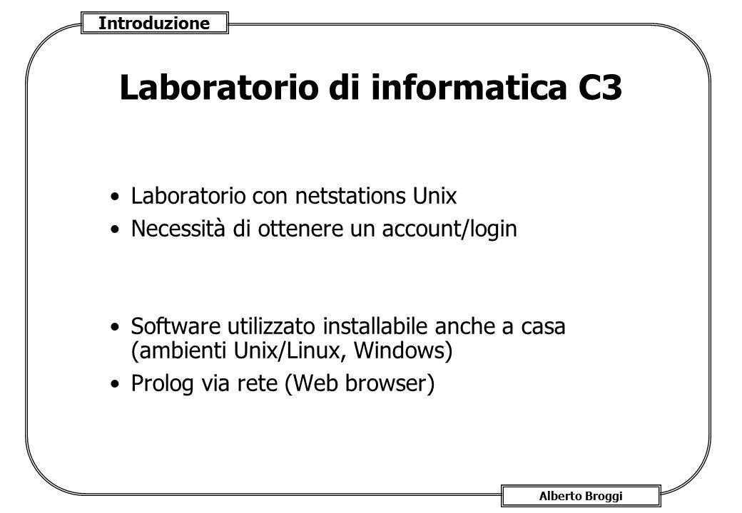 Laboratorio di informatica C3