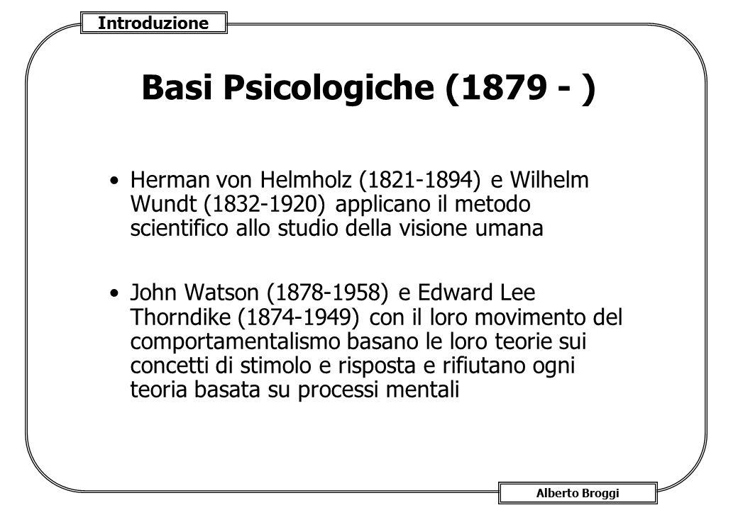 Basi Psicologiche (1879 - )