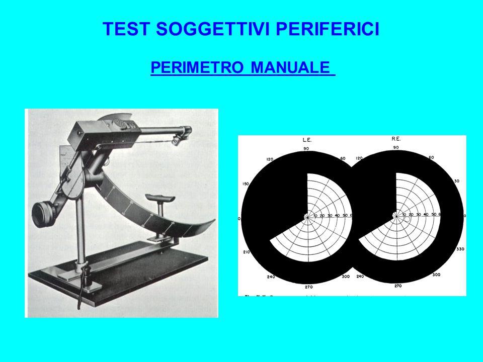 TEST SOGGETTIVI PERIFERICI