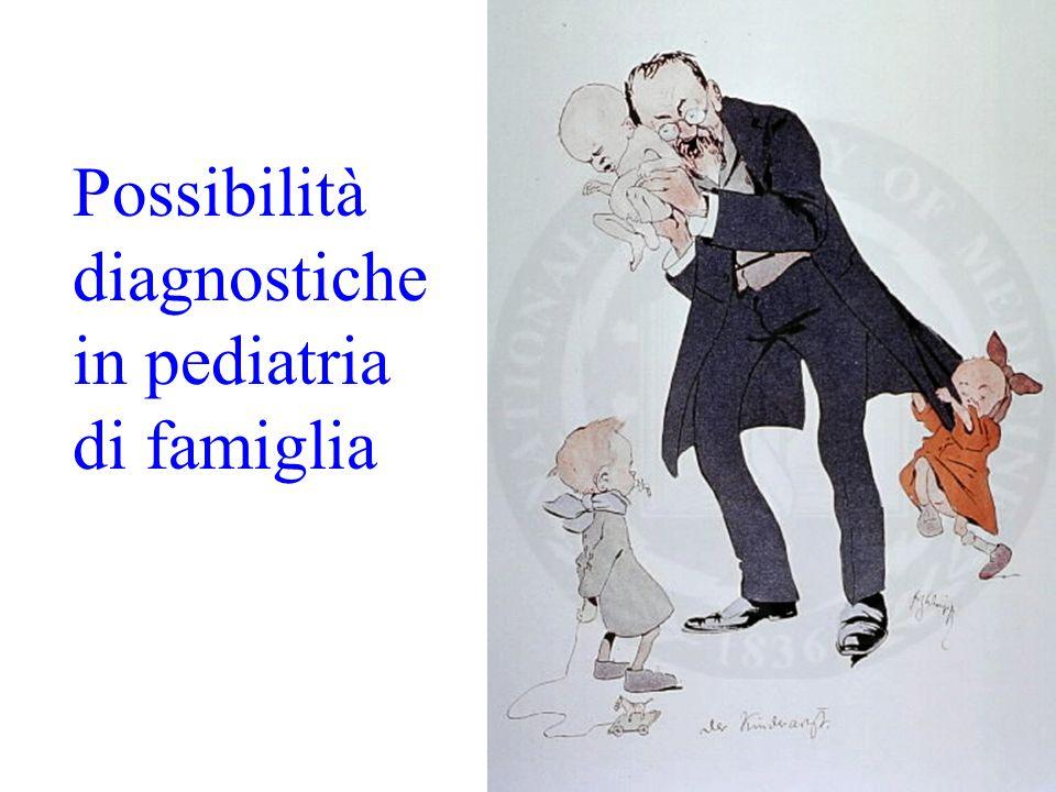 Possibilità diagnostiche in pediatria di famiglia