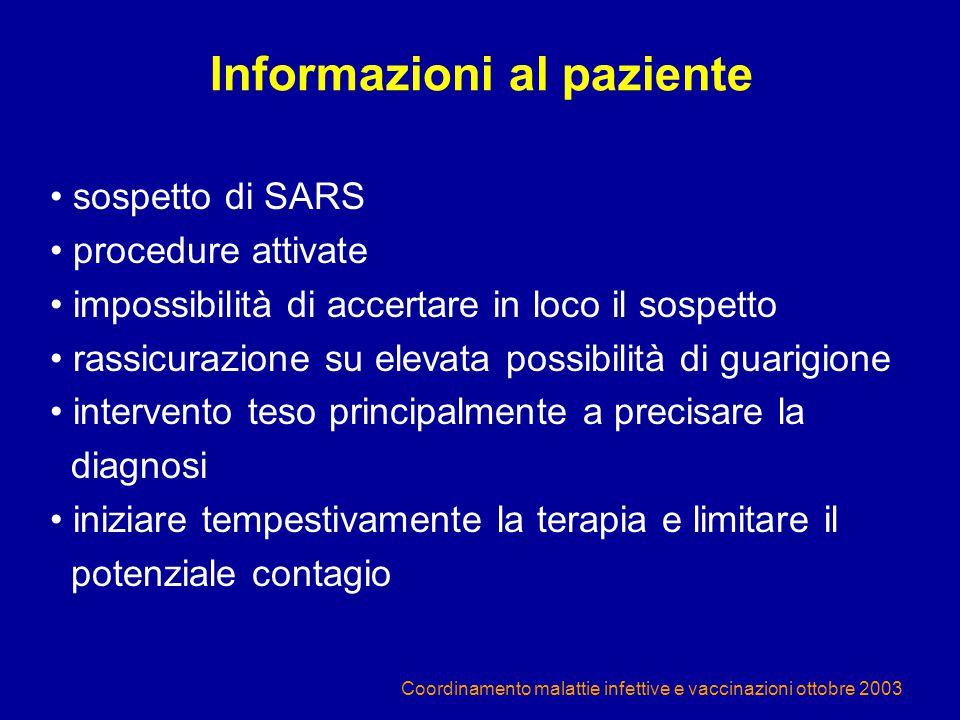 Informazioni al paziente